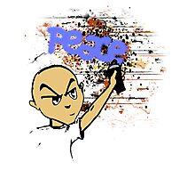 Peace Graffiti - Grunge T-Shirt Photographic Print