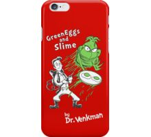 Green Eggs and Slime iPhone Case/Skin