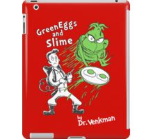 Green Eggs and Slime iPad Case/Skin