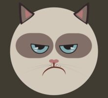 Minimal Grumpy Cat by konman96