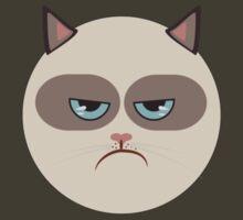Minimal Grumpy Cat by konman96