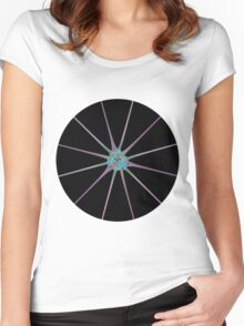 Shiny Star Women's Fitted Scoop T-Shirt