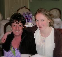 Mum and Daughter by Karen  Betts