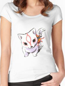 Okami Women's Fitted Scoop T-Shirt