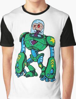 BRAIN ALIEN ROBOT Graphic T-Shirt