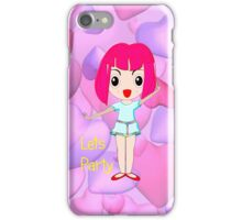 Lets Party iPhone case iPhone Case/Skin