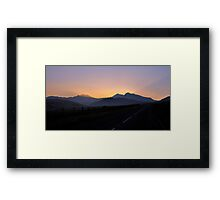 Snowdon - Beacon of Light Framed Print