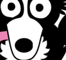 Collie Dog Agility Sticker