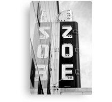 ZOE Canvas Print