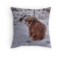 My constant companion Throw Pillow