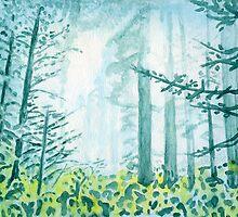 Lost In A Forest by Karen Clark