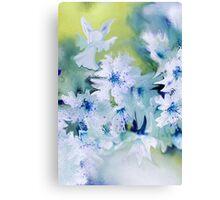 Angel Of Flowers Canvas Print