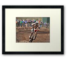 Hawkstone Park Motocross Framed Print