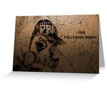 Hollywood Undead J-Dog Greeting Card