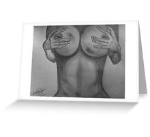 Pierced Nipps Greeting Card