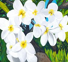 Hawaiian Flowers 2 by Barbara  Strand