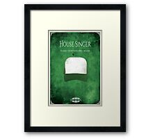 House of Singer Framed Print