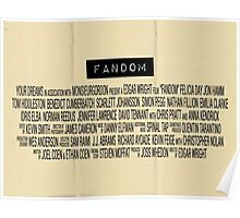 Fandom - The Movie Poster
