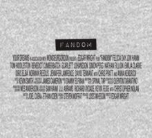 Fandom - The Movie Kids Clothes