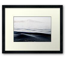 Calm Sea Framed Print