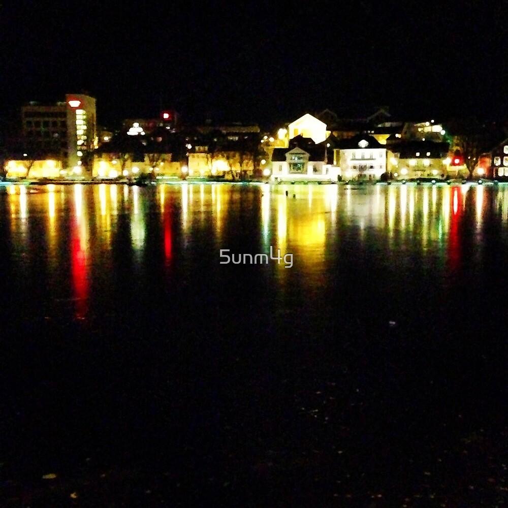 Lights On Ice by 5unm4g
