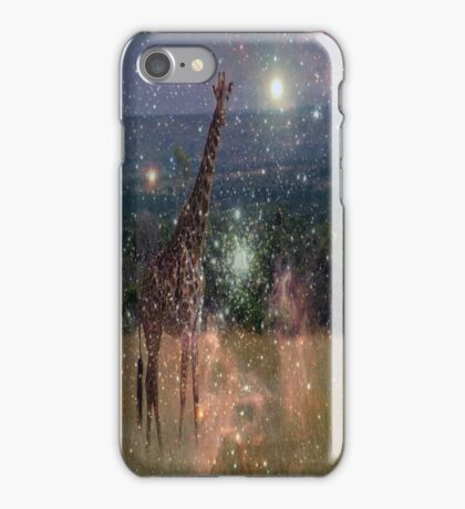 SPACE GIRAFFE  iPhone Case/Skin