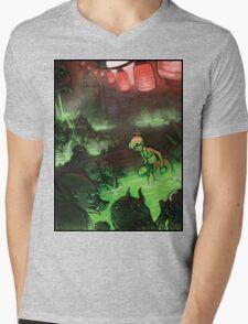 Monster Hotspring Mens V-Neck T-Shirt