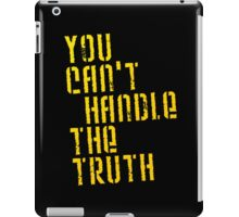 A Few Good Men - You Can't Handle The Truth iPad Case/Skin