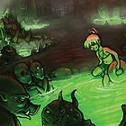 Monster Hotspring by Razvan-Sedekiah