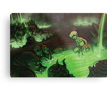 Monster Hotspring Metal Print