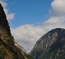 Norwegian fjord by 5unm4g