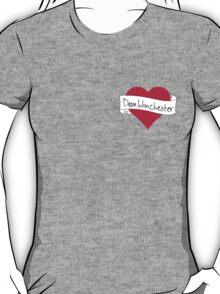 Dean Winchester heart T-Shirt