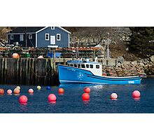 Nova Scotia Fishing Village Photographic Print