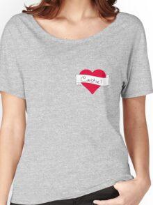 Castiel heart Women's Relaxed Fit T-Shirt