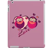 Lovely Owls iPad Case/Skin