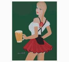 Beer wench t shirt by Artistkaz