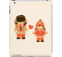Orange Snow Sisters iPad Case/Skin