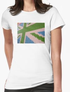 M&M World - UK Flag Womens Fitted T-Shirt
