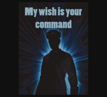 My wish is your command by Andrew Lyon