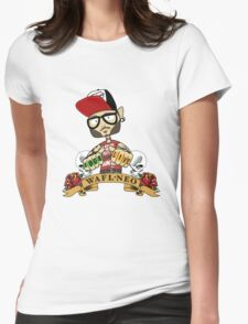 WAFLNeo Reppin' Womens Fitted T-Shirt
