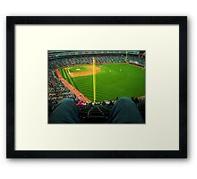 Crotch Park Framed Print