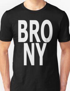 BRONY - (White Text) Unisex T-Shirt