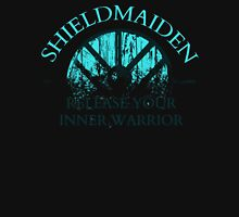 SHIELDMAIDEN - release your inner warrior! Womens Fitted T-Shirt