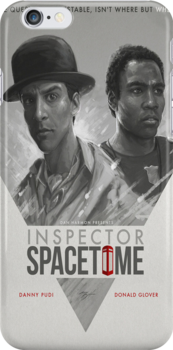 Inspector Space Time by mitchrose
