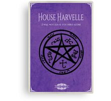 House of Harvelle Canvas Print