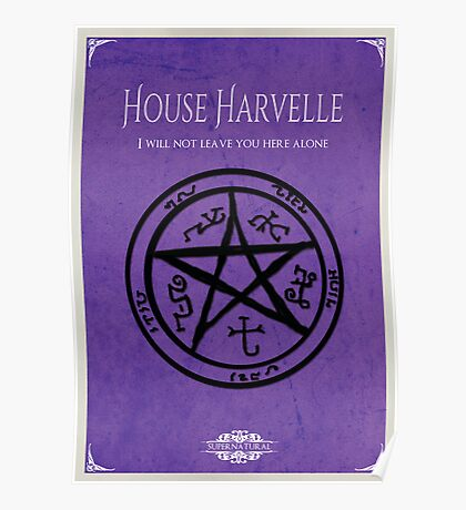 House of Harvelle Poster