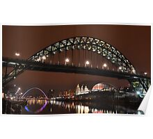 Newcastle quayside Poster