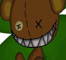 Smiles The Bear Saint Patty Sticker