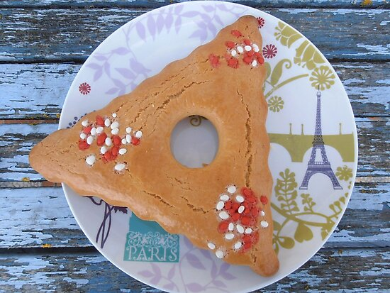 French Palm Sunday aniseed biscuit by Carol Dumousseau