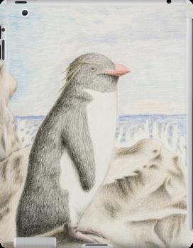 Rockhopper Penguin by jkartlife